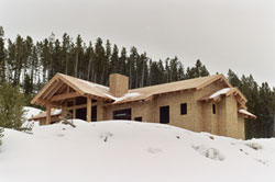 Construction in Big Sky